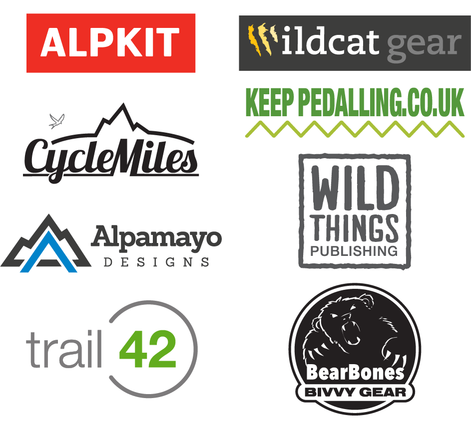 WRT bikepacking event supporters